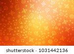 light red  yellow vector... | Shutterstock .eps vector #1031442136