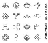 flat vector icon set  ... | Shutterstock .eps vector #1031451556