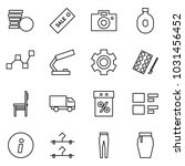 flat vector icon set   coins... | Shutterstock .eps vector #1031456452