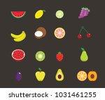vector fruits images   Shutterstock .eps vector #1031461255