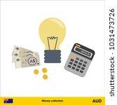 idea makes money . australian...   Shutterstock .eps vector #1031473726