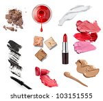 collection of  various make up... | Shutterstock . vector #103151555