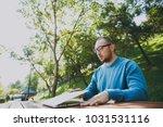 young successful smart man... | Shutterstock . vector #1031531116