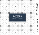 art circle with dots pattern... | Shutterstock .eps vector #1031532646