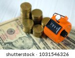 tally counter or counting...   Shutterstock . vector #1031546326