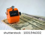 tally counter or counting...   Shutterstock . vector #1031546332