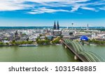 city of cologne  germany | Shutterstock . vector #1031548885