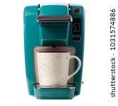 capsular electric coffee... | Shutterstock . vector #1031574886