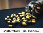 pills in capsules | Shutterstock . vector #1031586862