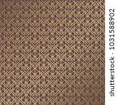 art deco pattern. golden... | Shutterstock .eps vector #1031588902