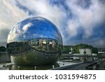 paris  france  october 15  2016.... | Shutterstock . vector #1031594875