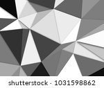 3d abstract low poly background | Shutterstock . vector #1031598862