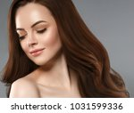 woman beauty healthy skin and... | Shutterstock . vector #1031599336