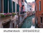 venice italy  february 2018.... | Shutterstock . vector #1031632312