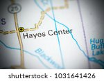 hayes center. nebraska. usa on... | Shutterstock . vector #1031641426