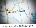 hayes center. nebraska. usa on... | Shutterstock . vector #1031641426