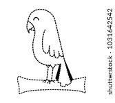cute bird isolated icon   Shutterstock .eps vector #1031642542