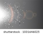 glow light effect. star burst... | Shutterstock .eps vector #1031646025