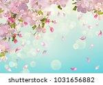 vector background with apple... | Shutterstock .eps vector #1031656882