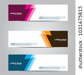 vector design banner... | Shutterstock .eps vector #1031675815