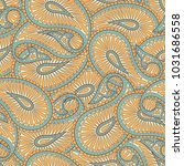 paisley ornament floral...   Shutterstock . vector #1031686558