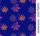 seamless exotic pattern with...   Shutterstock .eps vector #1031708092