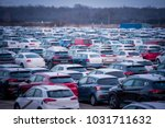 new automobiles background  car ...   Shutterstock . vector #1031711632