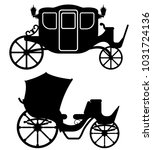 carriage for transportation of... | Shutterstock .eps vector #1031724136