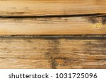 wooden panel with cracked... | Shutterstock . vector #1031725096