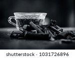 ayurvedic herb liquorice root... | Shutterstock . vector #1031726896
