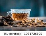 ayurvedic herb liquorice root... | Shutterstock . vector #1031726902