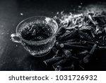 ayurvedic herb liquorice root... | Shutterstock . vector #1031726932