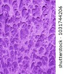 ultra violet abstract cement... | Shutterstock . vector #1031744206