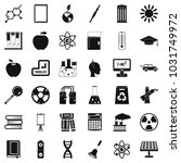 end of education icons set.... | Shutterstock . vector #1031749972