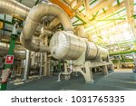 heat exchanger in process area... | Shutterstock . vector #1031765335