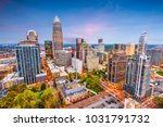 charlotte  north carolina  usa... | Shutterstock . vector #1031791732