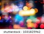 stock market display in the... | Shutterstock . vector #1031825962