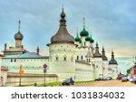 rostov kremlin in yaroslavl...   Shutterstock . vector #1031834032