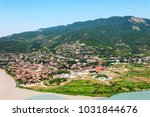 panoramic beautiful aerial view ... | Shutterstock . vector #1031844676