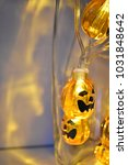 halloween decoration with... | Shutterstock . vector #1031848642
