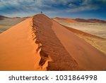 sand goddess dancing on the... | Shutterstock . vector #1031864998