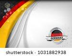 germany flag concept background ... | Shutterstock .eps vector #1031882938