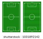 illustration of a soccer field. ... | Shutterstock .eps vector #1031892142