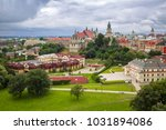 architecture of the old town in ... | Shutterstock . vector #1031894086