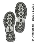 soles of sneakers isolated on...   Shutterstock . vector #1031911288