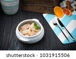 traditional ukrainian meal... | Shutterstock . vector #1031915506