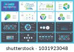 production charts slide... | Shutterstock .eps vector #1031923048