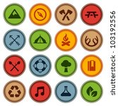 set of merit achievement badges ... | Shutterstock . vector #103192556