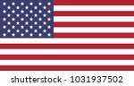 flag of united states of america | Shutterstock .eps vector #1031937502