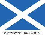 flag of scotland | Shutterstock .eps vector #1031938162